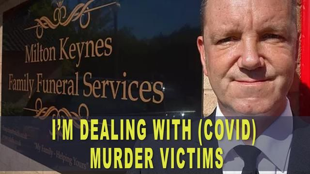 """Morderstwo za kulisami """"pandemii"""" ?- dyrektor zakładu pogrzebowego w Anglii"""